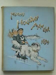 """""""NISTER'S HOLIDAY ANNUAL 1894 - Nister, Ernest & Mack, Robert Ellice & Fuller, """""""
