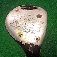 Vintage PING EYE 2 Golf Club Men's (RH) 3-Wood Heel-Toe BALANCE KARSTEN MFG CORP
