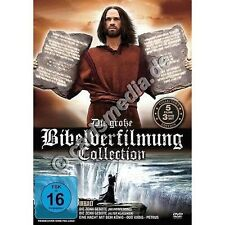 DVD-Set: DIE GROSSE BIBELVERFILMUNG COLLECTION  -  * 5 Filme auf 3 DVDs *  *NEU*
