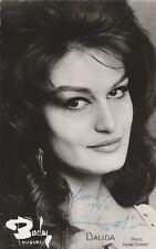 Autographe Original: DALIDA / Vintage 1964
