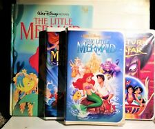 BANNED ART The Little Mermaid + Book + 6 Black Diamond VHS Movies, Poster