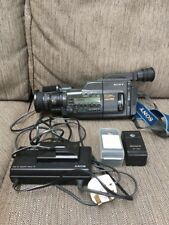 Working Vintage Sony Hi-Fi Stereo Video Hi8 - Camera Recorder CCD-V800E / PAL