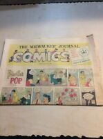 Sunday Comics Newspaper Section MILWAUKEE Journal - Sept 25 1960