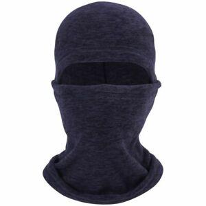 Winter Warm Hat Motorcycle Ski Neck Windproof Faces Mask Fleece Hood Helmet Cap