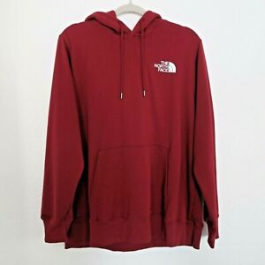 The North Face Red Pullover Long Sleeve Sweatshirt Hoodie NWT - Women's Size XL