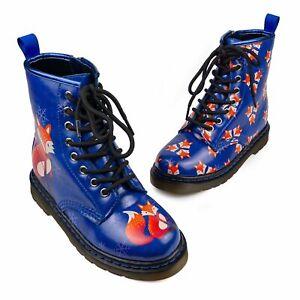 Wonder Boots - Howard Rainbows & and Fairies Flat Vintage Shoes