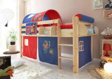 Blaue Kinder-Bettgestelle ohne Matratze mit Piraten zum Zusammenbauen