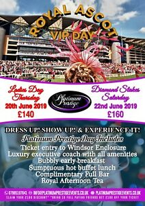 Royal Ascot Diamond Jubilee Stakes All Inclusive Day Experience 19th June 2021