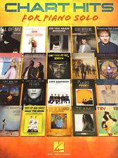 Chart Hits for Piano solo 20 aktuelle Pop Songs Songbook Noten für Klavier solo