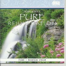 BODY AND SOUL PIANO AND MOUNTAIN STREAM PURE REJUVENATION RELAXATION MUSIC CD