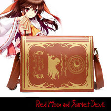 TouHou Project Patchouli Knowledge Shoulder Messenger Bag Tote Handbag Purse PU