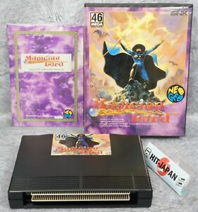 MAGICIAN LORD 2nd Version NEO GEO AES FREE SHIPPING SNK Ref 1322