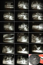 16 mm Film 1960-Wirkstoffe des Lebens.Experimente-Roche Werbung--Antique Movie