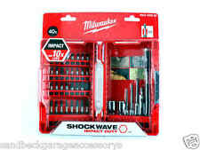 Milwaukee® 40 Piece Shockwave™ Bit Set c/w Magnetic Bit Holder  4932430582