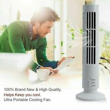 US Small Portable USB Cooling Air Conditioner Purifier Tower Bladeless Desk Fan