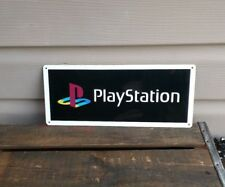 """Playstation Metal Sign Game Room 5x12"""" 50128"""