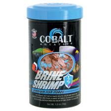 Cobalt Aquatics Brine Shrimp Flakes Premium Fish Food - 1.2 oz