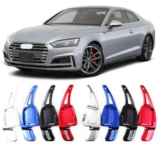 Alloy Steering Wheel DSG Paddle Extension Shifters Cover Fit For Audi S5 17-18