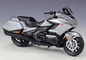 Welly 1:12 2020 Honda Gold Wing Diecast Motorcycle Bike Model Silver New In Box