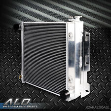 Aluminum Radiator For 87-95 Jeep Wrangler TJ YJ V8 Conversion 97-02