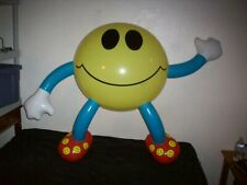 """Large Inflatable Smiley Face Guy Figure Character. 40"""""""