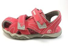 Timberland girls Toddler Closed Toe Sandal Size 8 Pink
