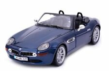 Voitures, camions et fourgons miniatures bleus cars BMW