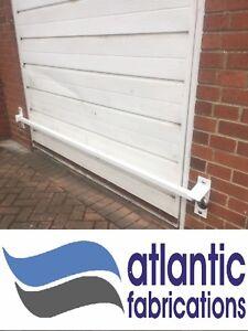 Garage door security bar heavy duty