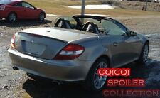 Painted MERCEDES BENZ 04-10 R171 SLK AMG type trunk spoiler color-744 Silver ◎