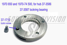 Triumph 37-3587 W3587 rear wheel bearing lockring 28TPI 1970- with screw 37-1710