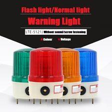 Lte 5121 Sound Light Alarm Led Signal Light Buzzer Small Strobe Warning Light12v