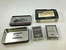 Harley Davidson 95Th Anniversary -Two Sealed Decks of Playing Cards W/ Tin 1998