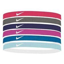 NIKE Elastic Hairbands 6 PK / One Size, Multi-Color