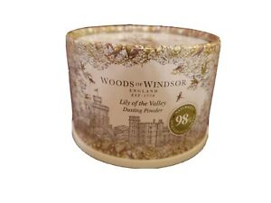 Woods of Windsor Dusting Powder w/Puff 3.5oz LILY OF THE VALLEY