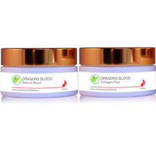 Dragons Blood Twin Pack Retinol & Collagen Anti Wrinkle Anti Ageing Cream 100 ml