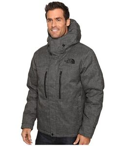 NWT MENS THE NORTH FACE HIMALAYAN LIFESTYLE JACKET $399 L tnf black tweed