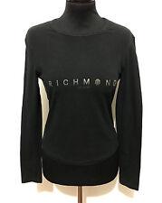 RICHMOND Maglietta Maglia Donna Cotone Cotton Woman Sweater T-Shirt Sz.S - 40