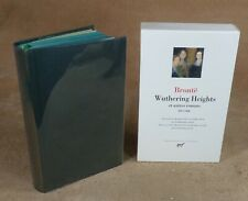 LA PLEIADE : BRONTE - WUTHERING HEIGHTS ET AUTRES ROMANS  / 2002