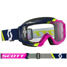 Scott Mx Hustle Gafas de motocross Asimétrico Azul/rosa con Transparente