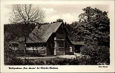 Schierke Harz  Sachsen Anhalt DDR s/w AK 1953 Waldgasthaus Drei Annen Gasthof