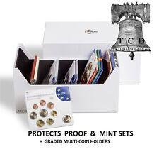 Lighthouse INTERCEPT Box L180 Multi Purpose US Mint Set Storage for Coin Sets