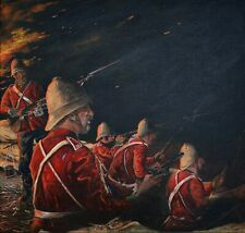 More details for limited edition print by alan adams out of the darkness rorke's drift 1879