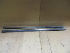 FIAT 124 DOOR GLASS WIPER MOLDING WINDOW DEW STRIP SET of 2