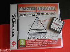Vintage NINTENDO DS PRACTISE ENGLISH Complet avec mode emploi en Français */*