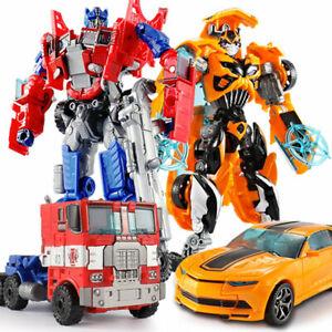 Transformers Optimus Prime Mechtech Vehicle Toys Transform Kids Birthday Gift