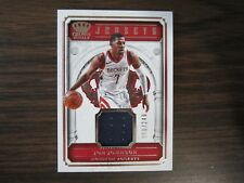 2017-18 Crown Royal # JSY-JJH Joe Johnson Jersey Card # 68 of # 249 Rockets (B24