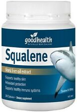 Good Health Squalene Shark Liver Oil Extract 1000mg (300) Capsules FREE SHIPPING