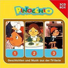 3 CDs * PINOCCHIO - 3-CD HÖRSPIEL BOX # NEU OVP !