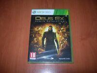 DEUS EX HUMAN REVOLUTION XBOX 360 (PAL ESPAÑA PRECINTADO)