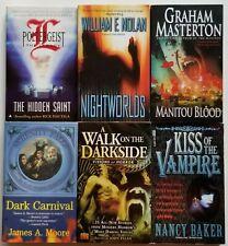 1990s / 2000s Horror  [Lot of 6 paperbacks]